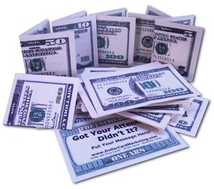 Dollar Bill Business Cards